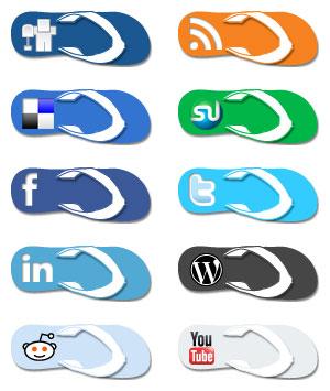 social sandals