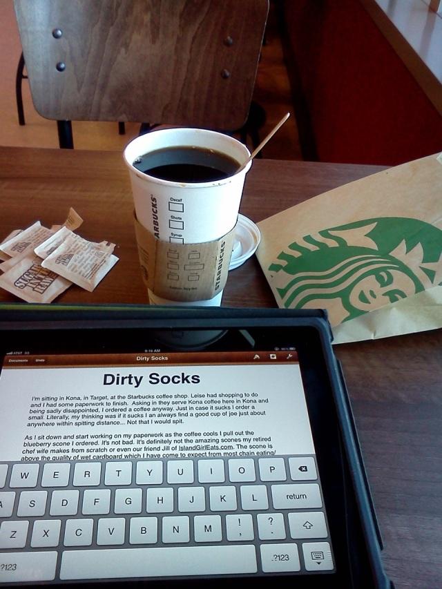 coffee at starbucks
