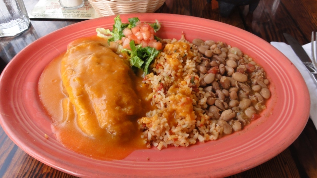 Chile Relleno at Rosa's Cantina