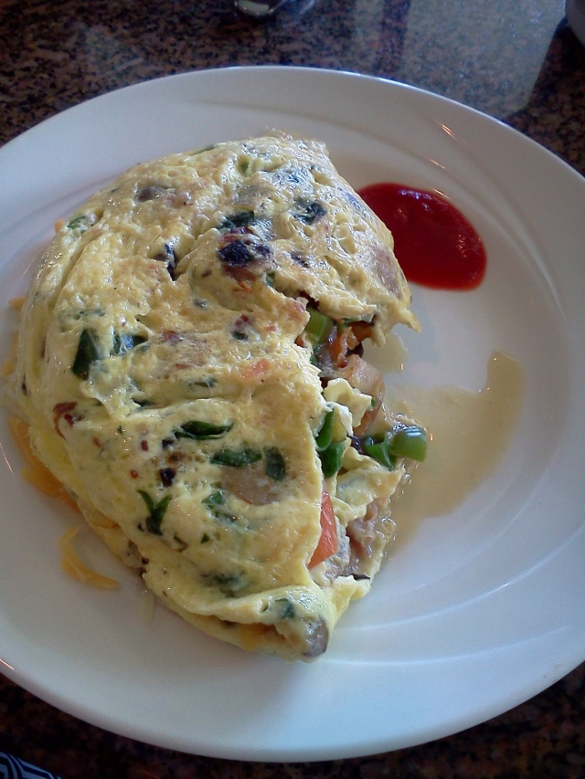 Fresh Made Omelet