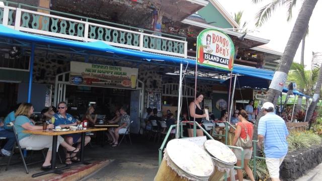Bongo Ben's Island Cafe Entrance