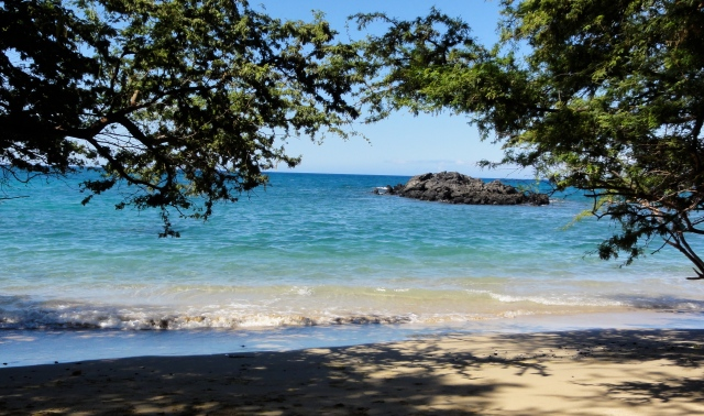 Hawaii- Our favorite private beach