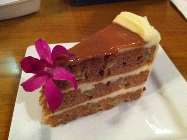 Harvest Carmel Apple Cake