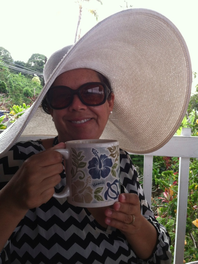 Now That is a BIG Island Chai